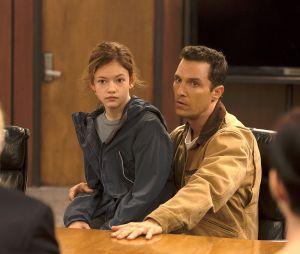 Mackenzie Foy et Matthew McConaughey dans Interstellar