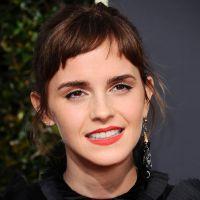 Emma Watson dévoile sa toute nouvelle coupe de cheveux aux Golden Globes
