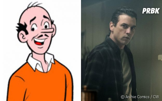 FP Jones (Skeet Ulrich) dans les comics et dans Riverdale