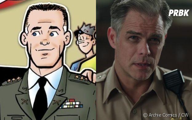 Tom Keller (Martin Cummins) dans les comics et dans Riverdale