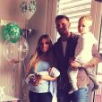 Benjamin Machet (Friends Trip 4) avec sa femme Sarah et leurs fils Tao et Damian