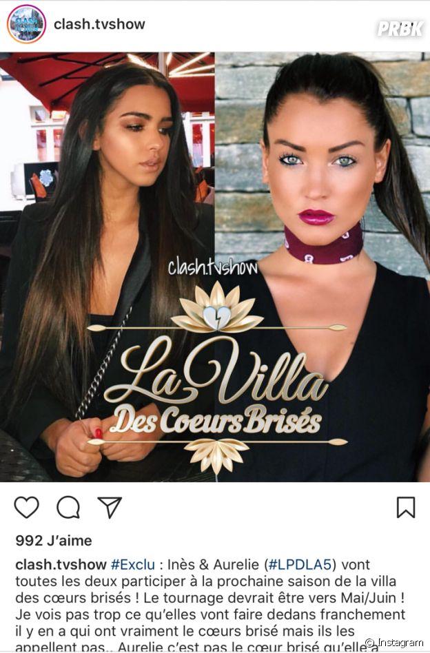 La Villa des Coeurs Brisés 4 : Aurélie Dotremont et Inès au casting ?