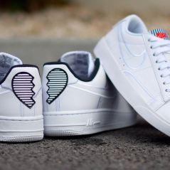 Nike s'occupe des coeurs brisés pour la Saint-Valentin avec sa Air Force 1 et sa Blazer 💔