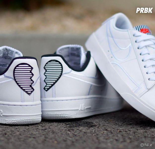 Nike : une Air Force 1 et une Blazer pour la Saint-Valentin en mode coeur brisé