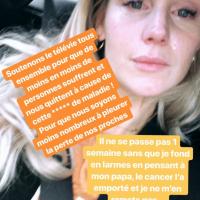 """Aurélie Van Daelen en larmes en évoquant la mort de son père : """"Je souffre depuis 4 ans"""""""