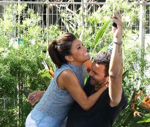 Ricardo Chavira et Eva Longoria sur le tournage de Telenovela