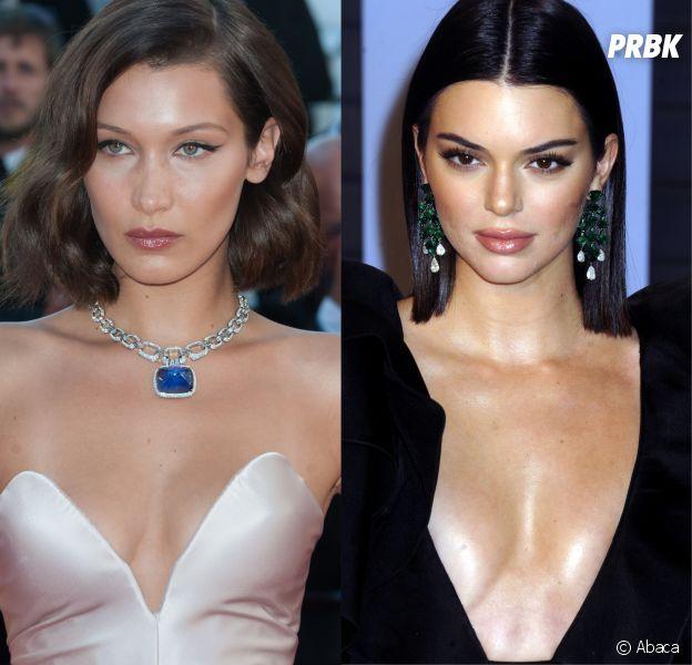 Bella Hadid et Kendall Jenner accusées d'avoir fait de la chirurgie esthétique : Bella répond !
