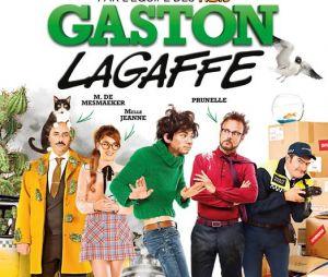 L'affiche de Gaston Lagaffe.