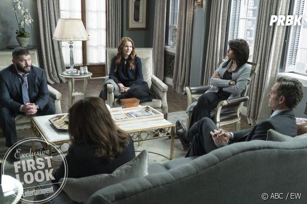 Scandal saison 7 : premières images déprimantes du dernier épisode de la série