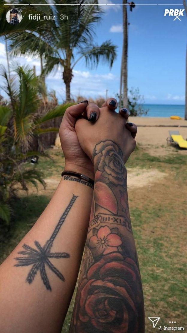 Fidji Ruiz en couple sur le tournage de La Villa des Coeurs Brisés 4 ?