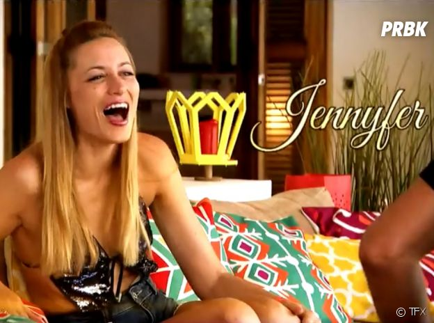 Jennyfer au casting de La Villa des Coeurs Brisés 4.