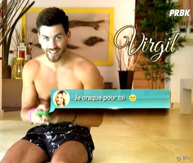 Virgil au casting de La Villa des Coeurs Brisés 4.