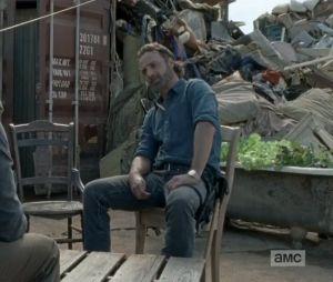 Fear the Walking Dead saison 4 : aviez-vous remarqué le passage de Rick ?