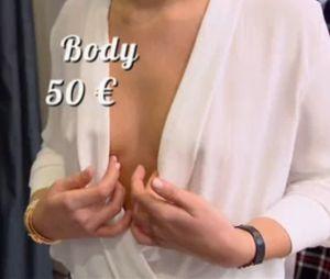 Les Reines du shopping : Cristina Cordula choquée par une candidate qui montre un sein (sans le vouloir).