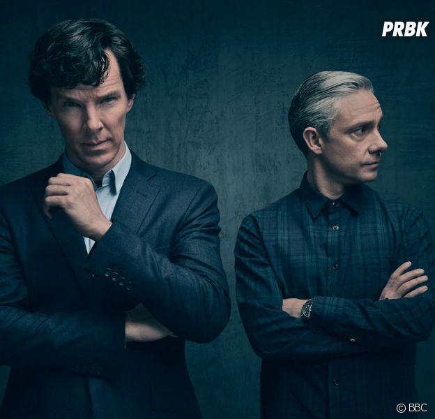 Sherlock saison 5 : Martin Freeman critique les fans,Benedict Cumberbatch le tacle