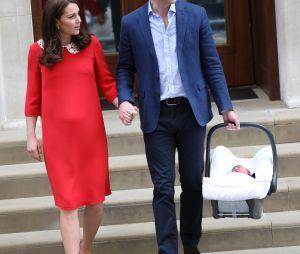 Kate Middleton et le Prince William : leur bébé s'appelle Louis