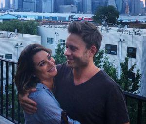 Lea Michele fiancée à Zandy Reich