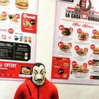 La Casa de Papel : un fast-food 100% dédié à la série
