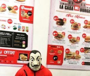 La Casa de Papel : FlorianOnAir dévoile le restaurant La Casa del Burger inspiré de la série de Netflix