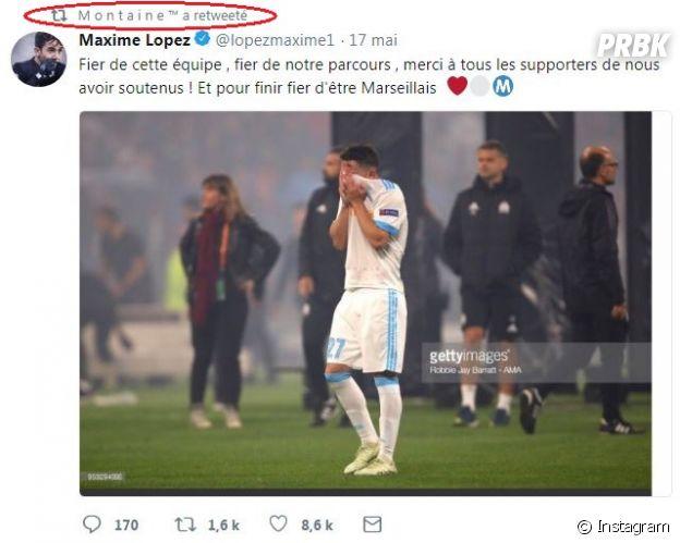 Montaine (Les Marseillais VS Le reste du Monde 2) en couple avec Maxime Lopez ? La candidate de télé-réalité et le joueur de football s'envoient des mots doux !