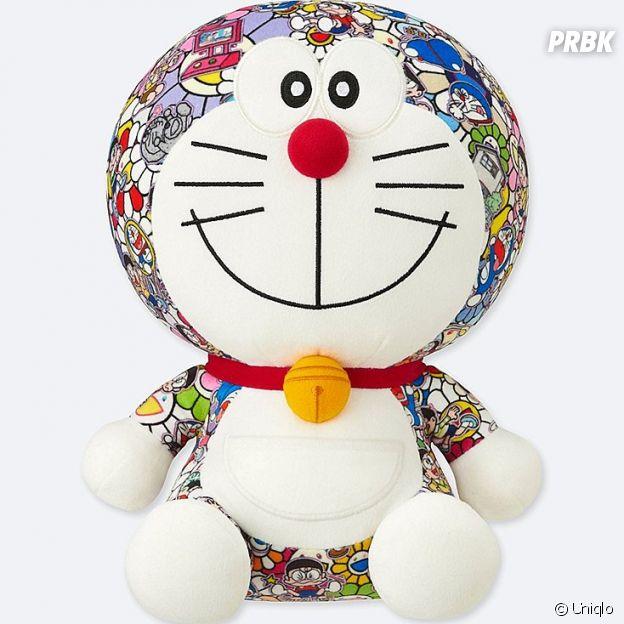 "Uniqlo et l'artiste Takashi Murakami lancent la nouvelle collection UT ""Doraemon""."