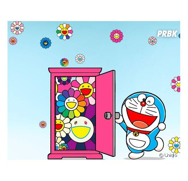 "Uniqlo et Takashi Murakami : une collection UT ""Doraemon"" à l'allure Kawaï !"