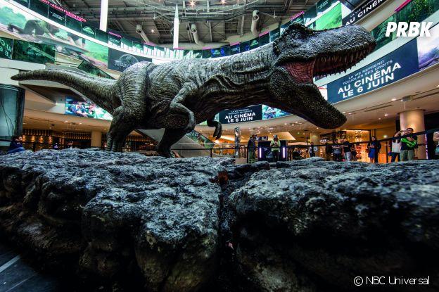 Jurassic World 2 : un T-Rex débarque en plein Paris