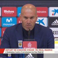 Zinédine Zidane (Real Madrid) démissionne, futur entraîneur de l'Equipe de France ?