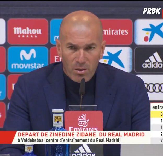 Zinédine Zidane (Real Madrid) démissionne : futur entraineur de l'Equipe de France