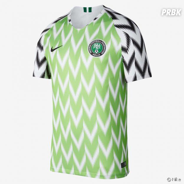 Coupe du Monde 2018 : le maillot du Nigeria a fait l'unanimité