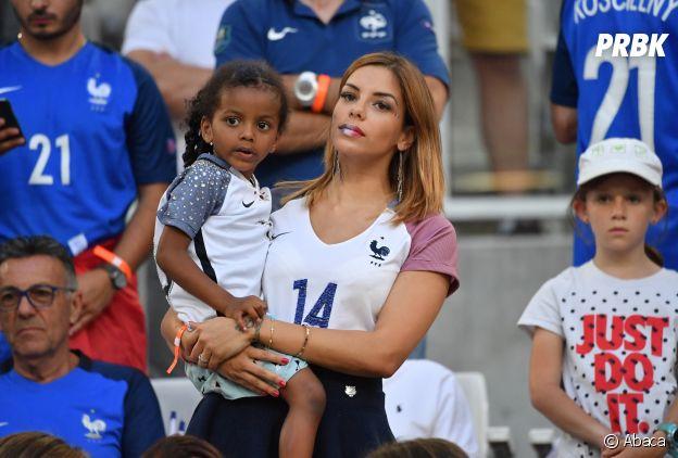 Isabelle Matuidi et sa fille