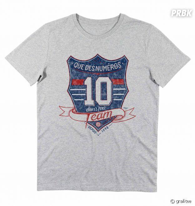 T shirt Que des numéros 10 dans ma team France 98