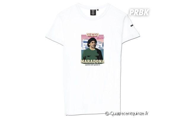 T shirt Maradona Narcos