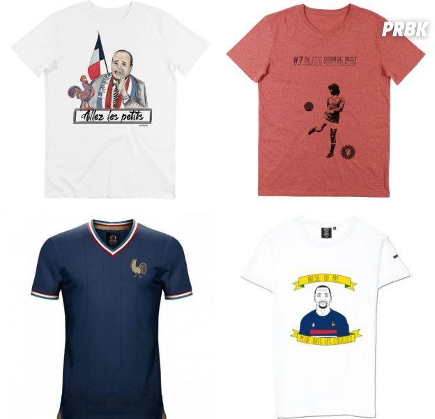 Coupe du monde 2018 : la sélection t-shirt cool et originaux