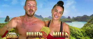 Gagnants de Moundir et les apprentis aventuriers 3, Julien Bert et Milla Jasmine savourent