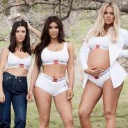 Kim Kardashian et ses soeurs en lingerie et en denim dans la nouvelle campagne Calvin Klein