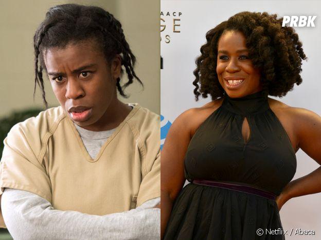 Orange is the New Black : Uzo Aduba (Crazy Eyes) dans la série VS dans la vie