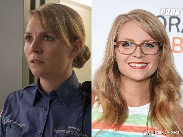 Orange is the New Black : Emily Tarver (Artesian McCullough) dans la série VS dans la vie