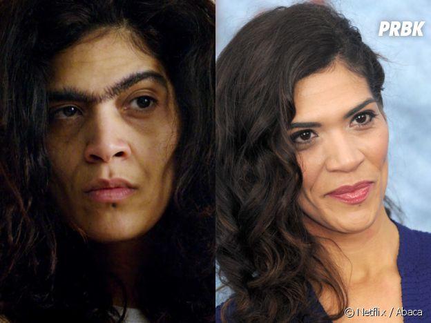 Orange is the New Black : Laura Gómez (Blanca) dans la série VS dans la vie