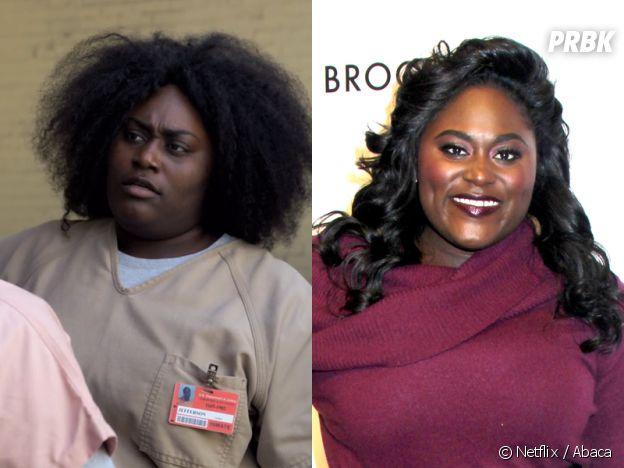 Orange is the New Black : Danielle Brooks (Taystee) dans la série VS dans la vie