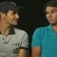 Federer et Nadal sont vraiment amis ... la preuve