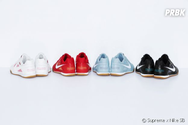 Supreme x Nike SB : la collab de sneakers se dévoile en photos.