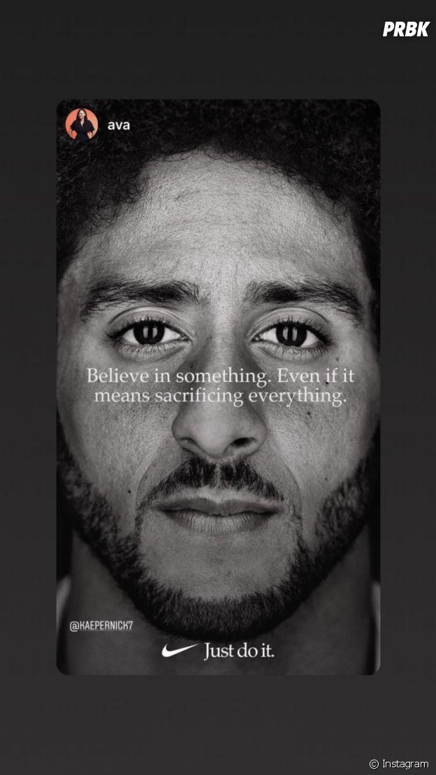 Nike recrute Colin Kaepernick, le footballeur américain boycotté par la NFL : des célébrités le félicitent et affichent leur soutien !