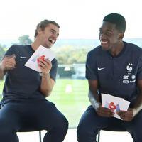 Antoine Griezmann et Ousmane Dembélé fracassent l'accent anglais de Fekir avec humour