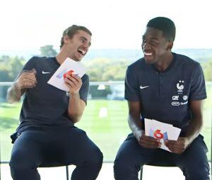 Griezmann et Dembélé se moquent de l'accent anglais de Fekir