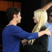 Photos ... Gossip Girl saison 4 ... sur le tournage le 1er septembre 2010
