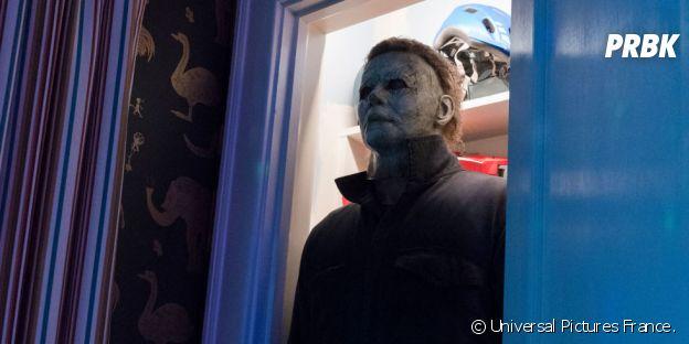 Jamie Lee Curtis dans Halloween.