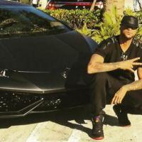 Booba s'amuse de son accident de voiture avec sa Lamborghini