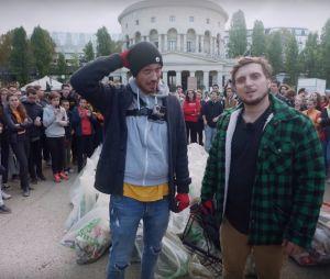 McFly & Carlito, Norman, Jhon Rachid... Les youtubeurs se mobilisent pour nettoyer Paris