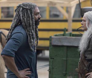 The Walking Dead saison 9 : Ezekiel et Carol sur une photo de l'épisode 6